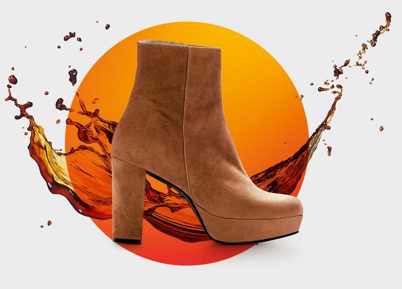 Items splash shoe